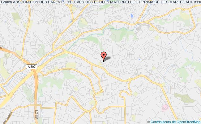 plan association Association Des Parents D'eleves Des Ecoles Maternelle Et Primaire Des Martegaux Marseille