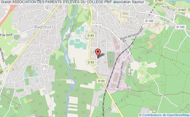 plan association Association Des Parents D'eleves Du College Pmf