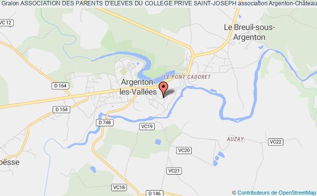 plan association Association Des Parents D'eleves Du College Prive Saint-joseph