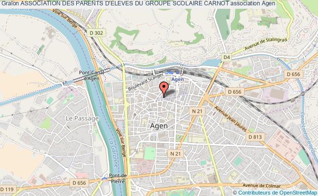 plan association Association Des Parents D'eleves Du Groupe Scolaire Carnot