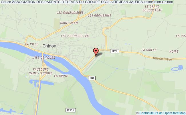 plan association Association Des Parents D'ÉlÈves Du Groupe Scolaire Jean JaurÈs Chinon