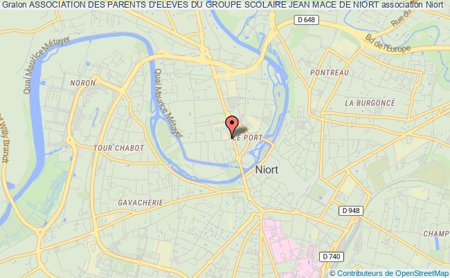 plan association Association Des Parents D'eleves Du Groupe Scolaire Jean Mace De Niort