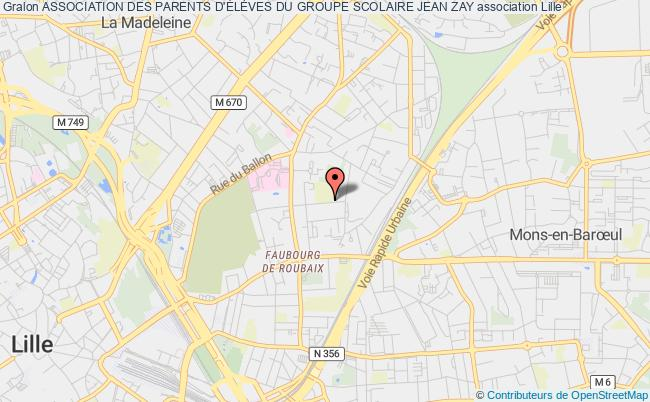 plan association Association Des Parents D'ÉlÈves Du Groupe Scolaire Jean Zay
