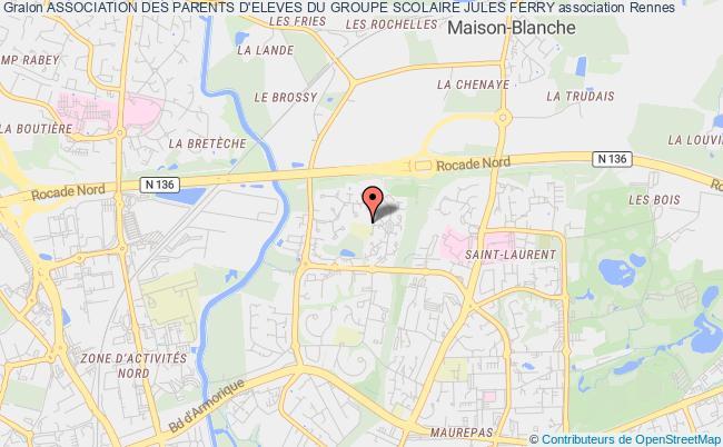 plan association Association Des Parents D'eleves Du Groupe Scolaire Jules Ferry