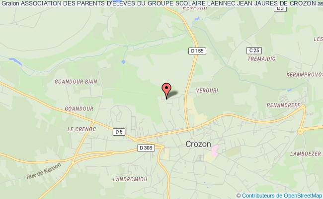 plan association Association Des Parents D'eleves Du Groupe Scolaire Laennec Jean Jaures De Crozon