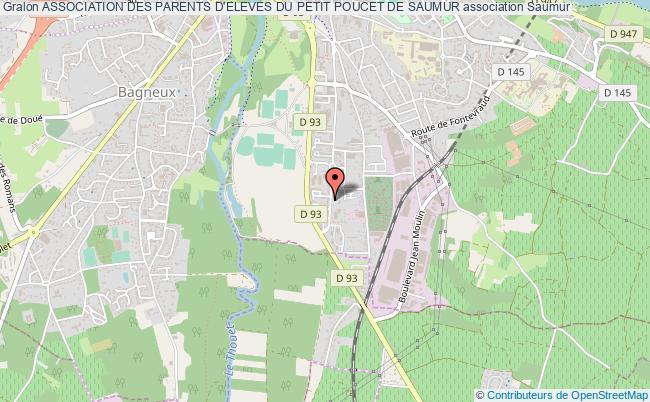 plan association Association Des Parents D'eleves Du Petit Poucet De Saumur