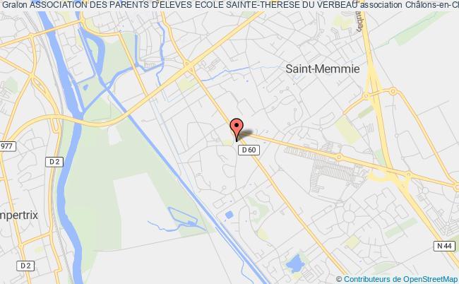 plan association Association Des Parents D'eleves Ecole Sainte-therese Du Verbeau