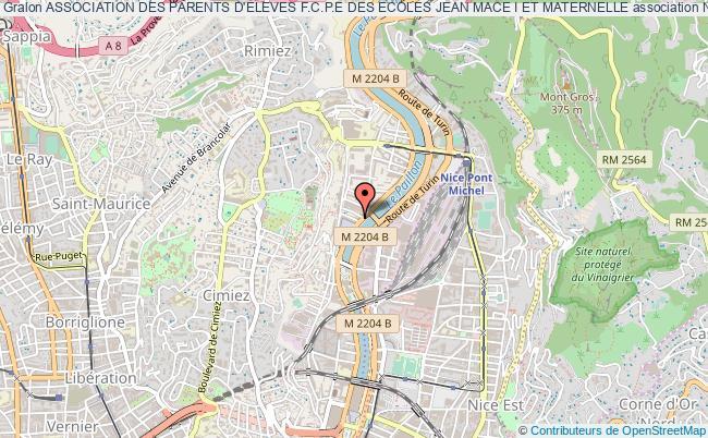 plan association Association Des Parents D'eleves F.c.p.e Des Ecoles Jean Mace I Et Maternelle