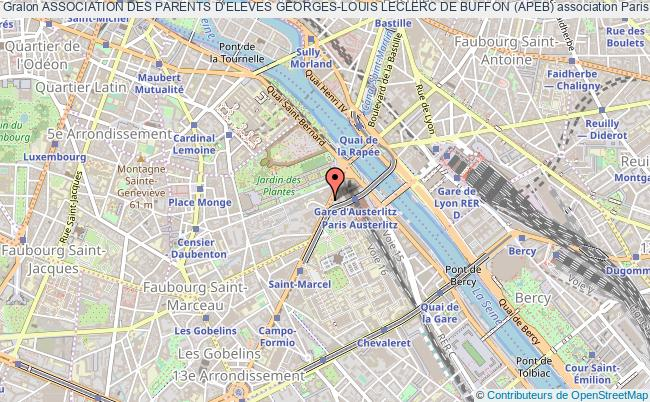 plan association Association Des Parents D'eleves Georges-louis Leclerc De Buffon (apeb)
