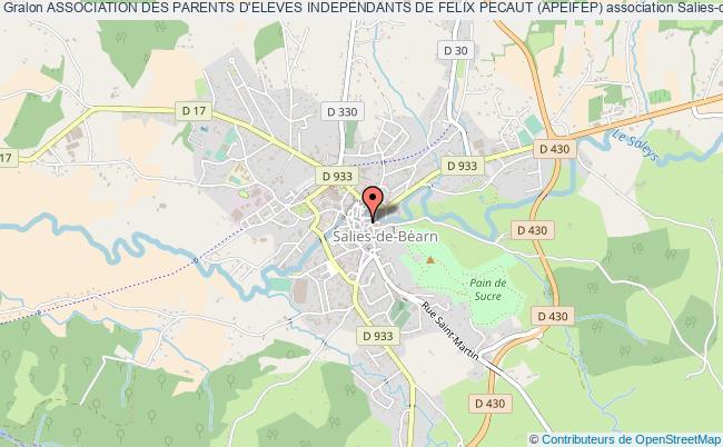 plan association Association Des Parents D'eleves Independants De Felix Pecaut (apeifep)