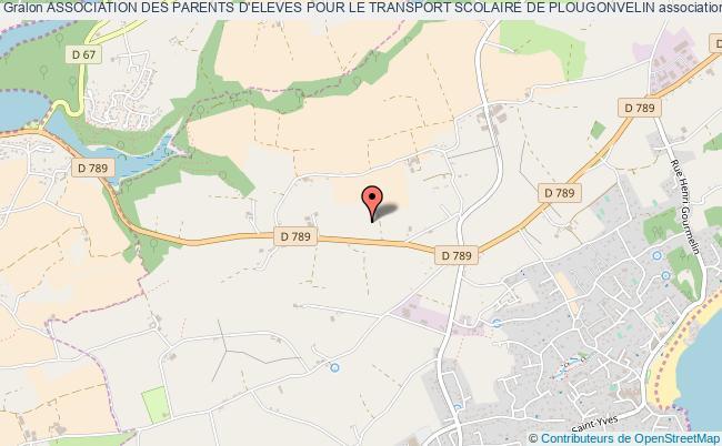 plan association Association Des Parents D'eleves Pour Le Transport Scolaire De Plougonvelin