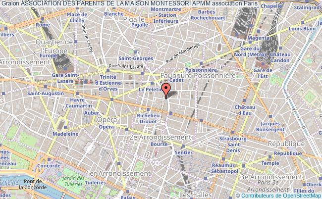 plan association Association Des Parents De La Maison Montessori Apmm