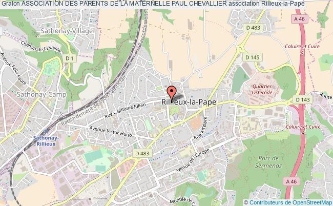 plan association Association Des Parents De La Maternelle Paul Chevallier