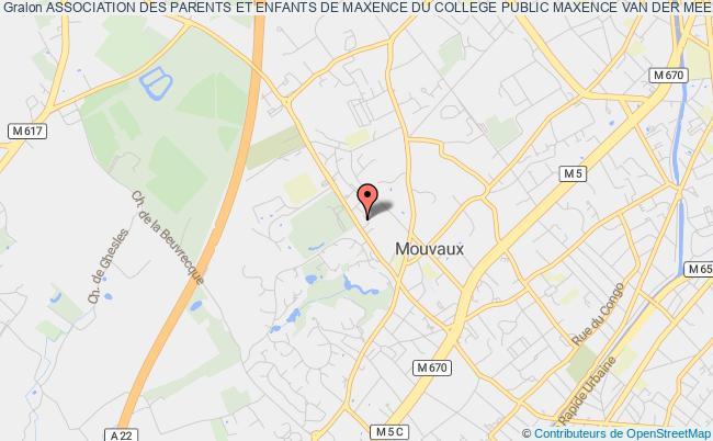 plan association Association Des Parents Et Enfants De Maxence Du College Public Maxence Van Der Meersch De Mouvaux