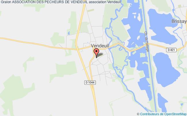 plan association Association Des Pecheurs De Vendeuil