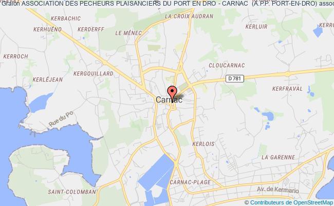 plan association Association Des Pecheurs Plaisanciers Du Port En Dro - Carnac  (a.p.p. Port-en-dro)