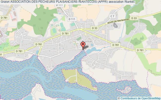 plan association Association Des Pecheurs Plaisanciers Riantecois (appr)