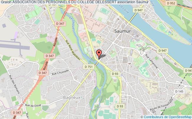 plan association Association Des Personnels Du College Delessert