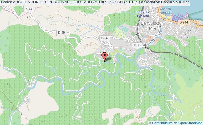 plan association Association Des Personnels Du Laboratoire Arago (a.p.l.a.)