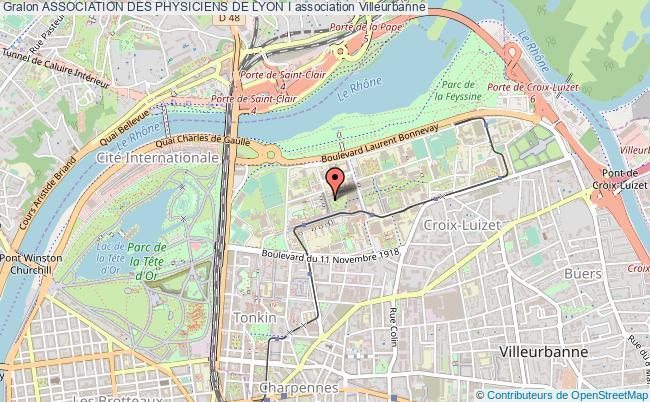 plan association Association Des Physiciens De Lyon I