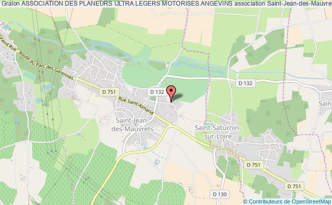 plan association Association Des Planeurs Ultra Legers Motorises Angevins