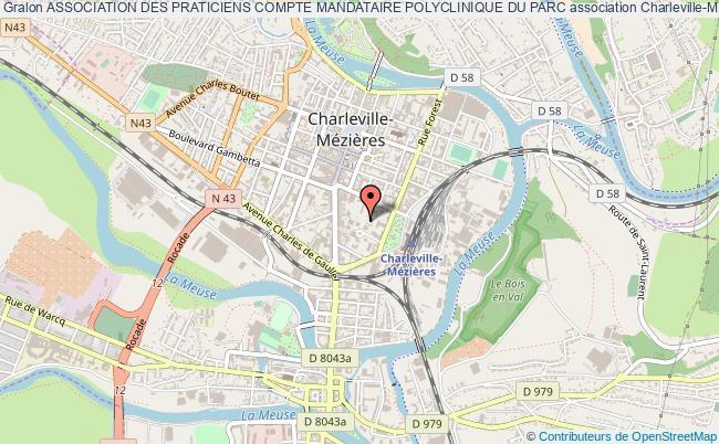 plan association Association Des Praticiens Compte Mandataire Polyclinique Du Parc