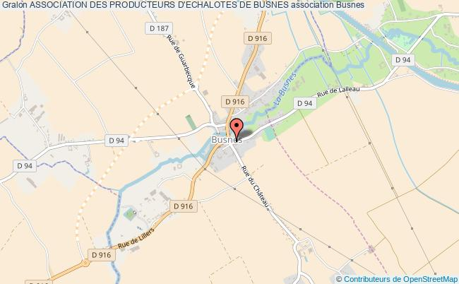 plan association Association Des Producteurs D'echalotes De Busnes