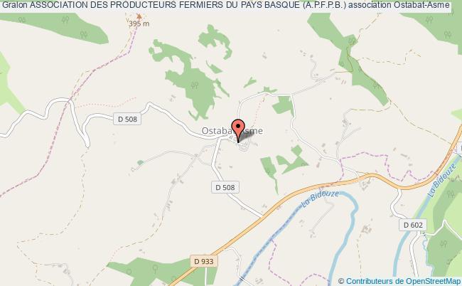 plan association Association Des Producteurs Fermiers Du Pays Basque (a.p.f.p.b.)