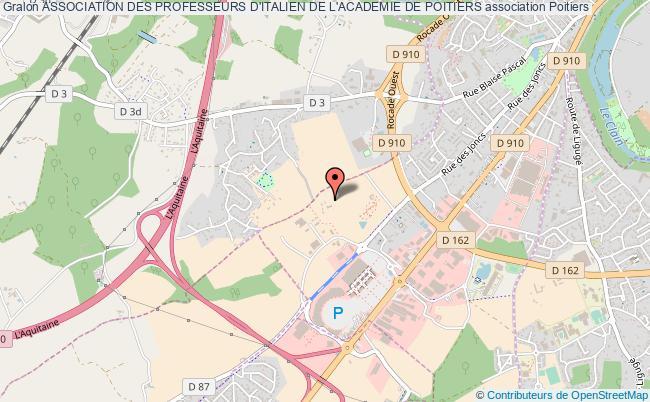 plan association Association Des Professeurs D'italien De L'academie De Poitiers