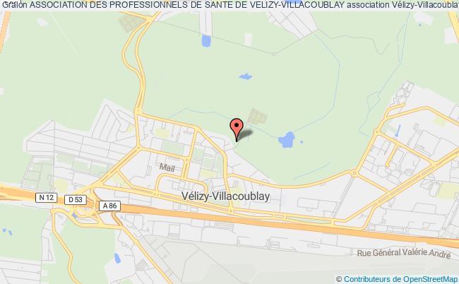 plan association Association Des Professionnels De Sante De Velizy-villacoublay
