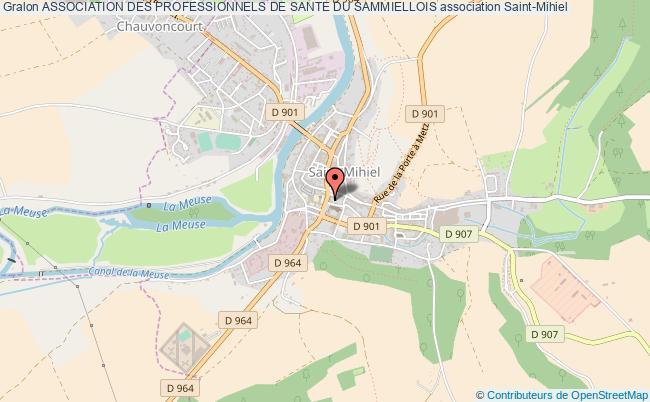 plan association Association Des Professionnels De Sante Du Sammiellois