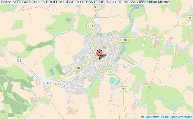 plan association Association Des Professionnels De Sante Liberaux De Milizac