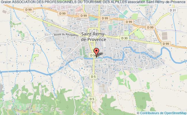 plan association Association Des Professionnels Du Tourisme Des Alpilles