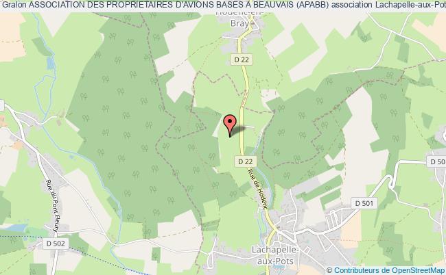 plan association Association Des Proprietaires D'avions Bases A Beauvais (apabb)