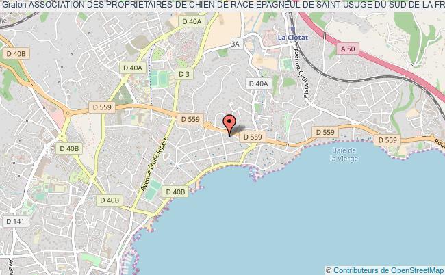 plan association Association Des Proprietaires De Chien De Race Epagneul De Saint Usuge Du Sud De La France (esu Sud)
