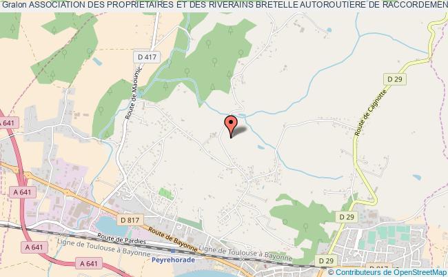 plan association Association Des Proprietaires Et Des Riverains Bretelle Autoroutiere De Raccordement Ouest De Peyrehorade