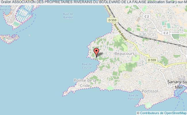 plan association Association Des Proprietaires Riverains Du Boulevard De La Falaise