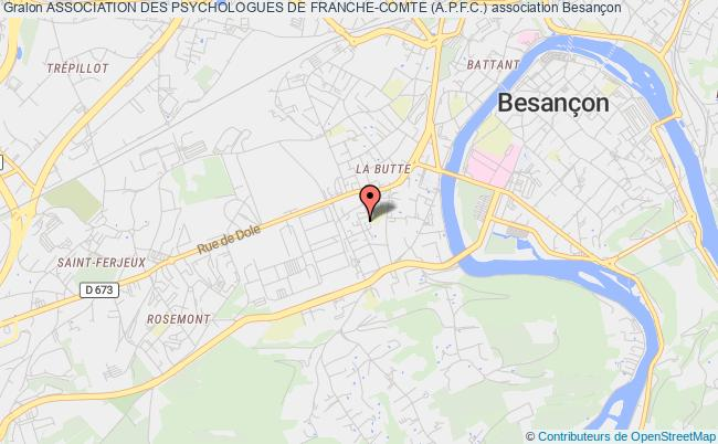 plan association Association Des Psychologues De Franche-comte (a.p.f.c.)