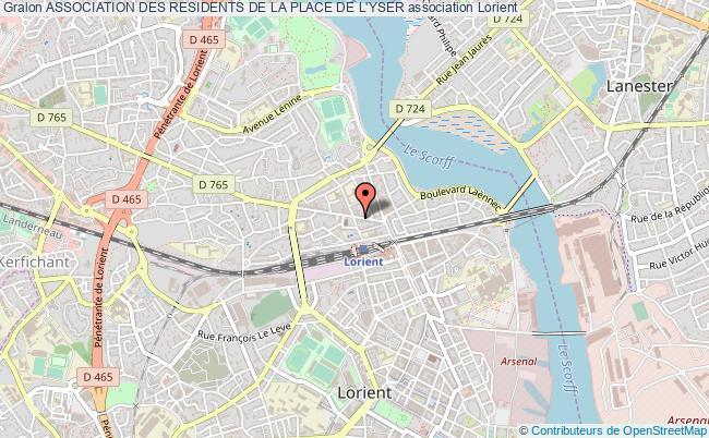 plan association Association Des Residents De La Place De L'yser