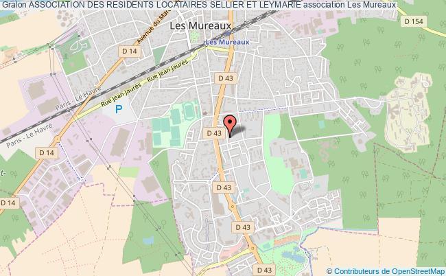 plan association Association Des Residents Locataires Sellier Et Leymarie Les   Mureaux
