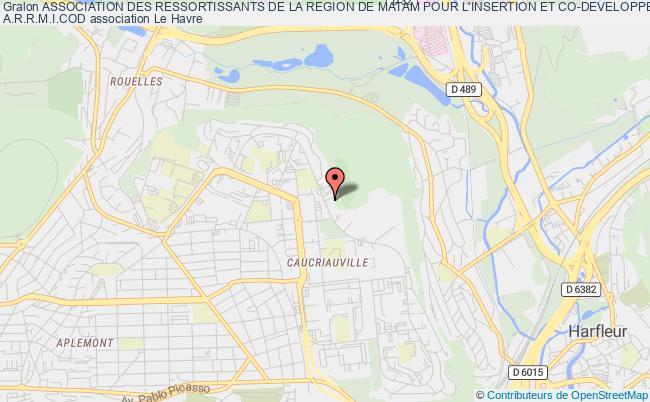plan association Association Des Ressortissants De La Region De Matam Pour L'insertion Et Co-developpement A.r.r.m.i.cod