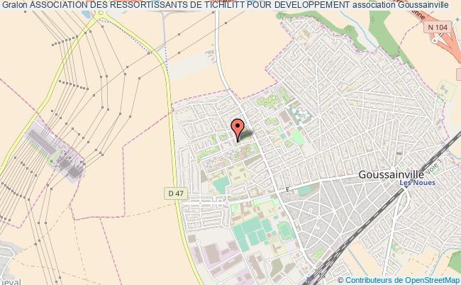 plan association Association Des Ressortissants De Tichilitt Pour Developpement Goussainville