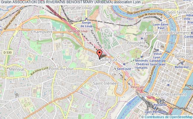 plan association Association Des Riverains Benoist Mary (aribema)