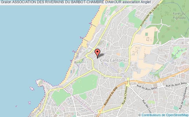plan association Association Des Riverains Du Barbot-chambre D'amour