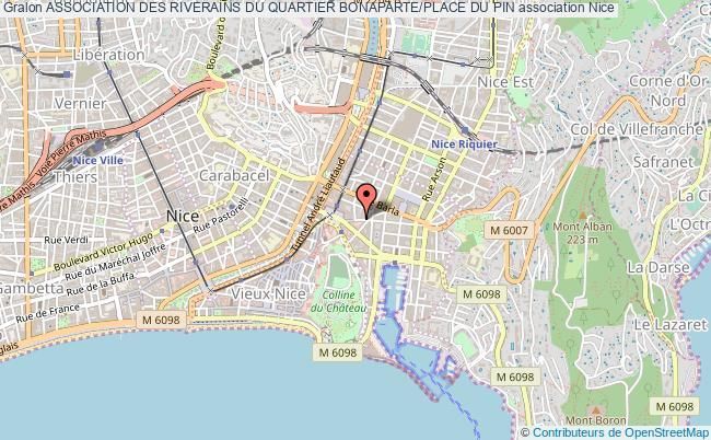 plan association Association Des Riverains Du Quartier Bonaparte/place Du Pin