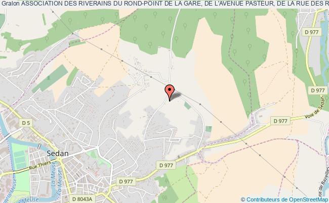 plan association Association Des Riverains Du Rond-point De La Gare, De L'avenue Pasteur, De La Rue Des Romains, Et Des RÉsidents Du 13-17 Avenue De La Marne
