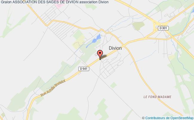 plan association Association Des Sages De Divion