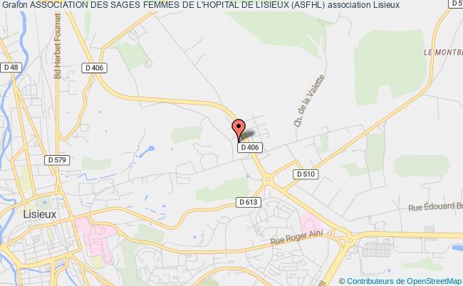 plan association Association Des Sages Femmes De L'hopital De Lisieux (asfhl)