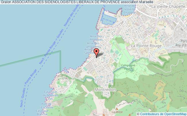 plan association Association Des Sidenologistes Liberaux De Provence
