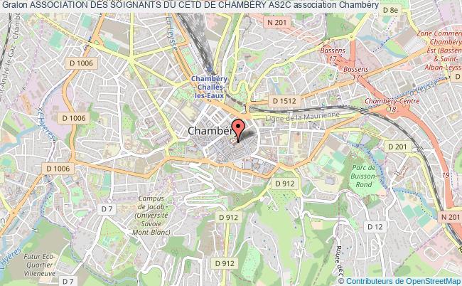 plan association Association Des Soignants Du Cetd De ChambÉry As2c